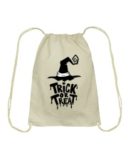 Trick or Treat Drawstring Bag front