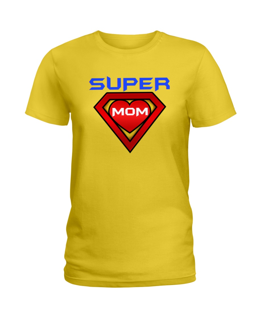 Super Mom Ladies T-Shirt