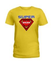 Super Mom Ladies T-Shirt front