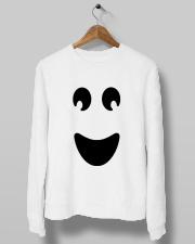 Ghost of Halloween Crewneck Sweatshirt lifestyle-unisex-sweatshirt-front-10