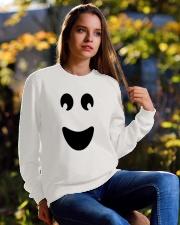 Ghost of Halloween Crewneck Sweatshirt lifestyle-unisex-sweatshirt-front-6