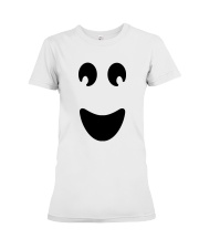 Ghost of Halloween Premium Fit Ladies Tee thumbnail