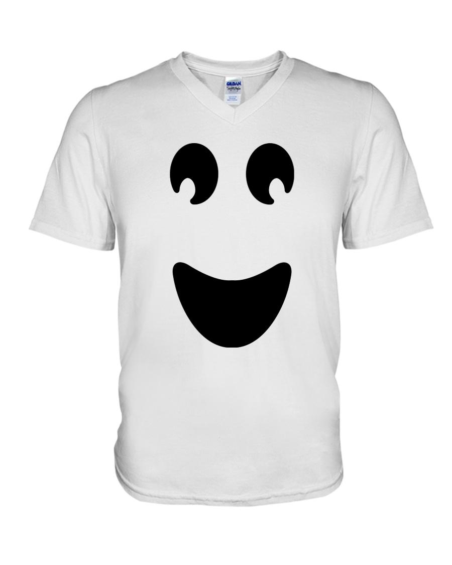 Ghost of Halloween V-Neck T-Shirt