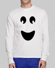 Ghost of Halloween Long Sleeve Tee lifestyle-unisex-longsleeve-front-1