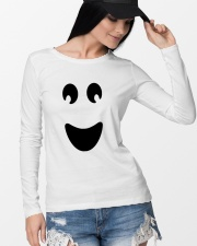 Ghost of Halloween Long Sleeve Tee lifestyle-unisex-longsleeve-front-4