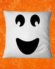 Ghost of Halloween Square Pillowcase aos-pillow-square-front-lifestyle-19