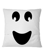 Ghost of Halloween Square Pillowcase back