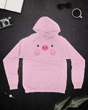 Halloween Peppa Pig  Hooded Sweatshirt lifestyle-unisex-hoodie-front-9