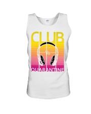 Club quarantine Unisex Tank thumbnail