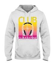 Club quarantine Hooded Sweatshirt thumbnail