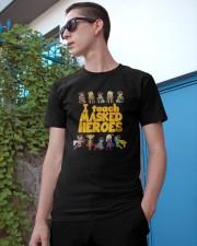 I Teach Masked Heroes Shirt Classic T-Shirt apparel-classic-tshirt-lifestyle-17