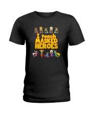 I Teach Masked Heroes Shirt Ladies T-Shirt thumbnail