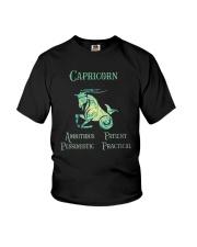 Capricorn Ambitious Patient Pessimistic Shirt Youth T-Shirt thumbnail