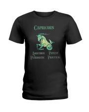 Capricorn Ambitious Patient Pessimistic Shirt Ladies T-Shirt thumbnail