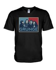 Grunge Shirt V-Neck T-Shirt thumbnail