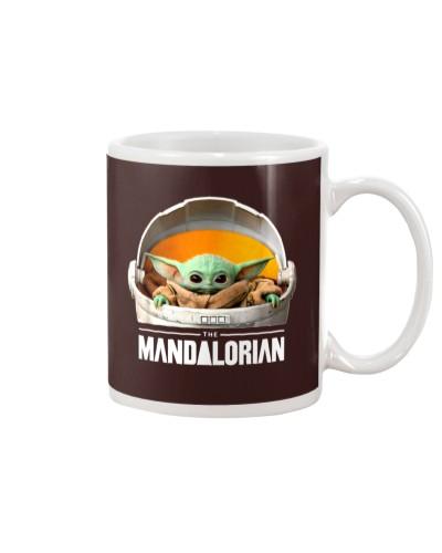 Baby Yoda The Mandalorian Coffee Mug Gif