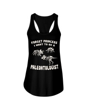 Forget Princess - I want to be a PALEONTOLOGIST Ladies Flowy Tank thumbnail