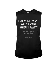 I gotta ask my wife Sleeveless Tee thumbnail