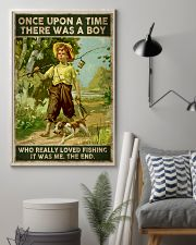 There was a boy who really loved fishing 24x36 Poster lifestyle-poster-1