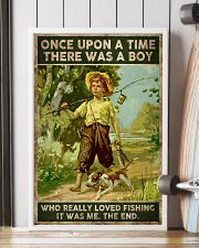 There was a boy who really loved fishing 24x36 Poster lifestyle-poster-4