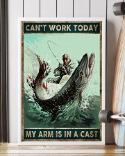 Can't work today My arm is in a cast 24x36 Poster lifestyle-poster-4
