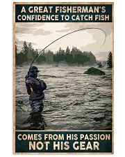 A Great Fisherman's confidence 24x36 Poster front