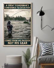 A Great Fisherman's confidence 24x36 Poster lifestyle-poster-1