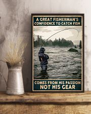 A Great Fisherman's confidence 24x36 Poster lifestyle-poster-3