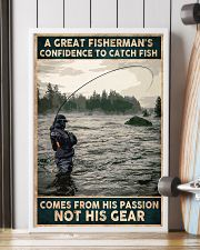 A Great Fisherman's confidence 24x36 Poster lifestyle-poster-4