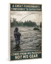 A Great Fisherman's confidence 24x36 Gallery Wrapped Canvas Prints thumbnail