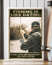 Fishing is like Dating 24x36 Poster lifestyle-poster-4
