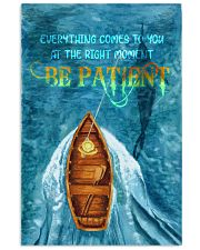 Be patient 24x36 Poster front