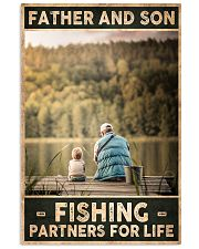 Father and Son - Fishing partners for Life 24x36 Poster front