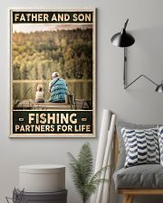 Father and Son - Fishing partners for Life 24x36 Poster lifestyle-poster-1