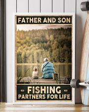 Father and Son - Fishing partners for Life 24x36 Poster lifestyle-poster-4