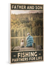 Father and Son - Fishing partners for Life 24x36 Gallery Wrapped Canvas Prints thumbnail