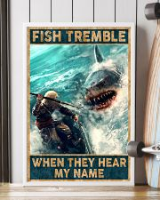 Fish tremble when they hear my name 24x36 Poster lifestyle-poster-4