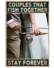 Couples that fish together - Stay forever 24x36 Poster front