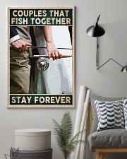 Couples that fish together - Stay forever 24x36 Poster lifestyle-poster-1