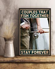 Couples that fish together - Stay forever 24x36 Poster lifestyle-poster-3