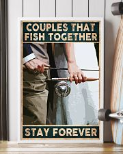 Couples that fish together - Stay forever 24x36 Poster lifestyle-poster-4
