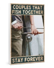 Couples that fish together - Stay forever 24x36 Gallery Wrapped Canvas Prints thumbnail