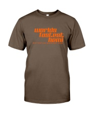 Worlds Fastest Hemi Classic T-Shirt front