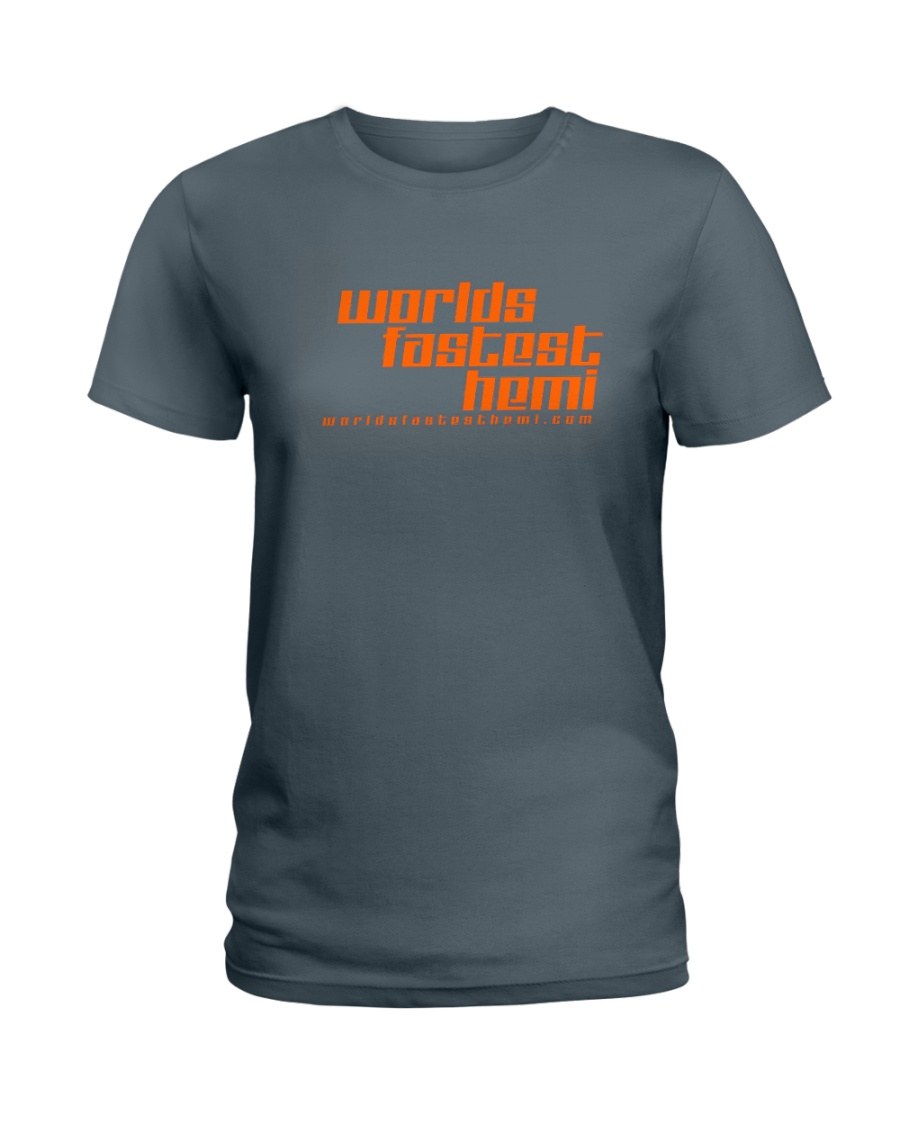 Worlds Fastest Hemi Ladies T-Shirt