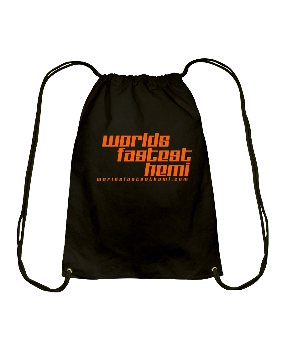 Updated Premium Worlds Fastest Hemi Gear Drawstring Bag