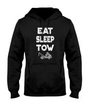 EAT SLEEP TOW - TOW TRUCK DRIVER TOWING T Hooded Sweatshirt thumbnail