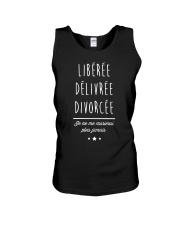 Divorcée Noir Tshirt Unisex Tank thumbnail