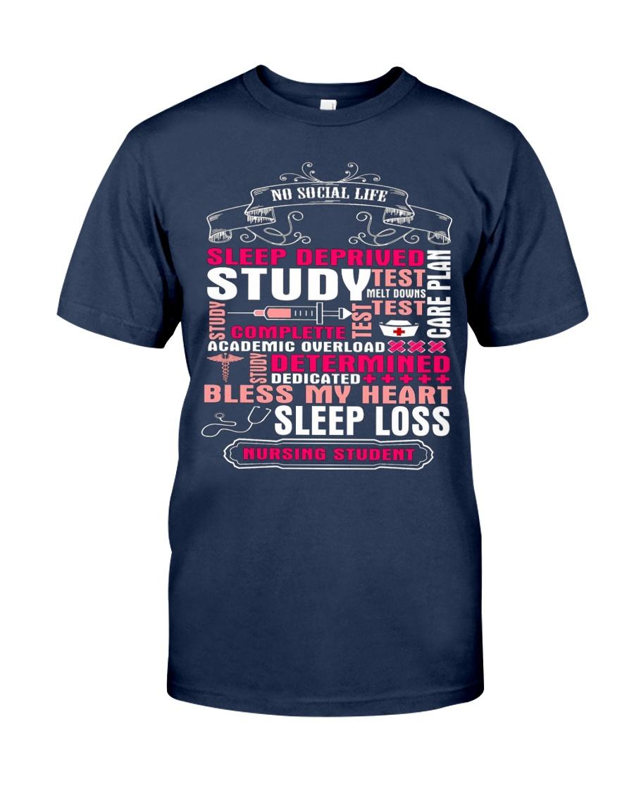 Funny Nursing Student T Shirt Gifts Nursing Studen Classic T-Shirt