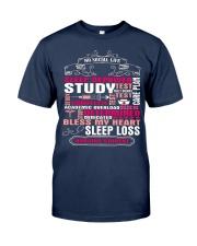 Funny Nursing Student T Shirt Gifts Nursing Studen Classic T-Shirt front
