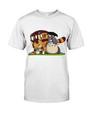 Totoro cat bus Classic T-Shirt front